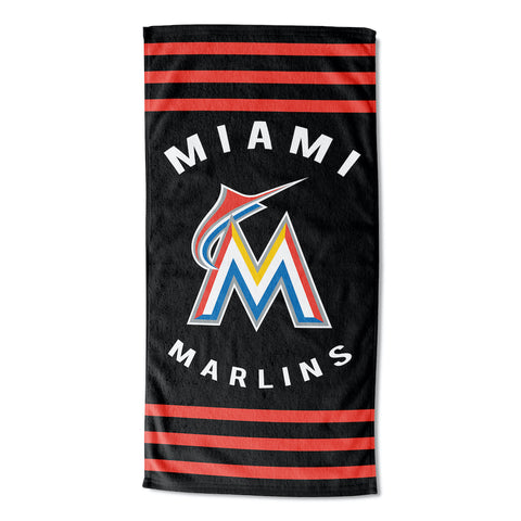 Miami Marlins Beach Towel