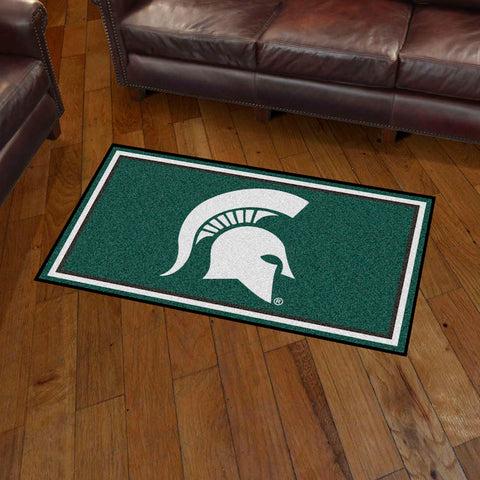NCAA Michigan State Spartans 3 X 5 Ft. Plush Area Rug - Bed, Bath, And My Team
