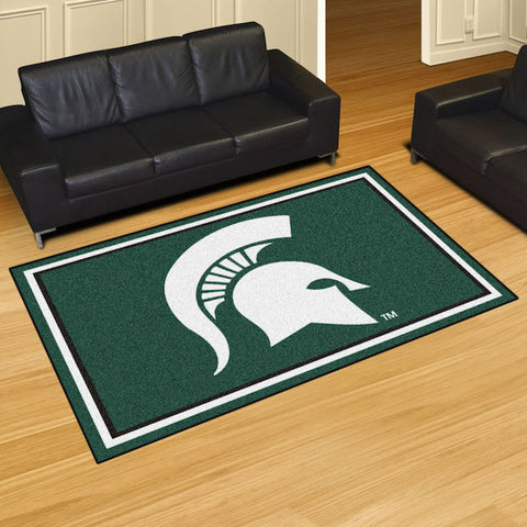 NCAA Michigan State Spartans 5 X 8 Ft. Area Rug - Bed, Bath, And My Team
