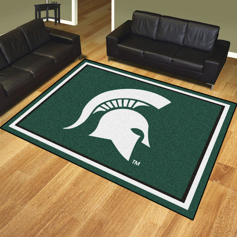 NCAA Michigan State Spartans 8 X 10 Ft. Area Rug - Bed, Bath, And My Team