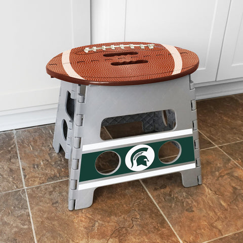 NCAA Michigan State Spartans Folding Step Stool - Bed, Bath, And My Team