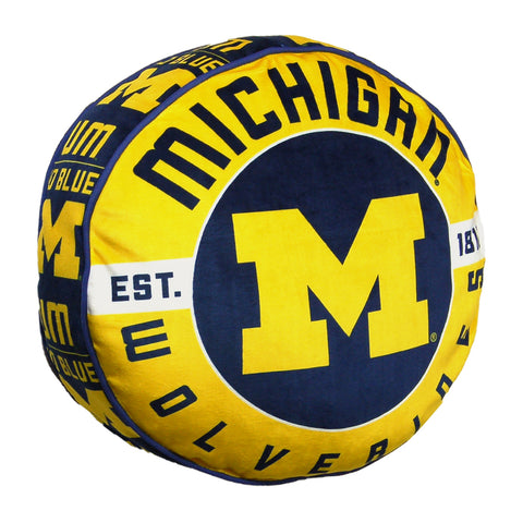 NCAA Michigan Wolverines Cloud Travel Pillow - Bed, Bath, And My Team