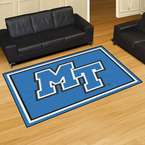 NCAA Middle Tennessee State Blue Raiders 5 X 8 Ft. Area Rug - Bed, Bath, And My Team