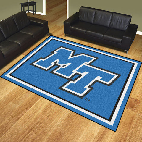 NCAA Middle Tennessee State Blue Raiders 8 X 10 Ft. Area Rug - Bed, Bath, And My Team
