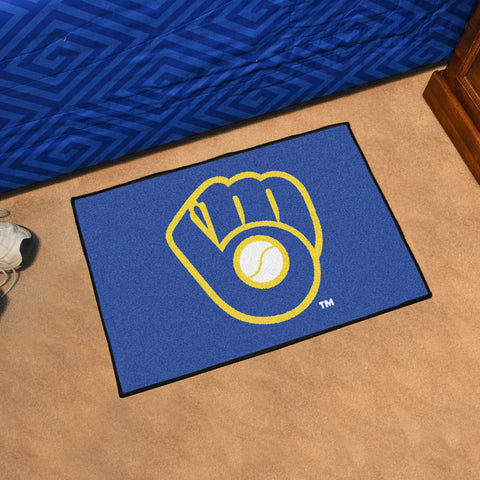 Milwaukee Brewers ALT LOGO Starter Mat