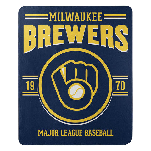 Milwaukee Brewers Fleece Throw