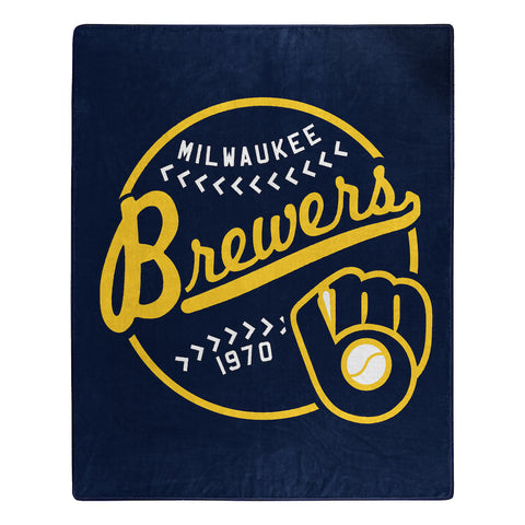 Milwaukee Brewers Jersey Blanket