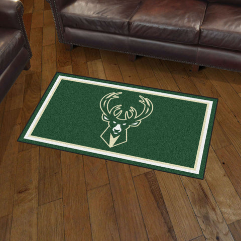 Milwaukee Bucks 3 x 5 area rug