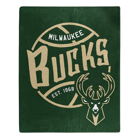 Milwaukee Bucks Jersey Blanket