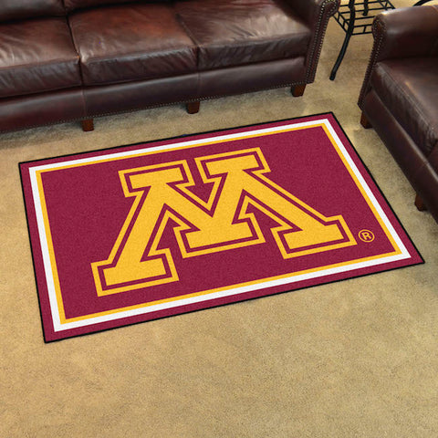 NCAA Minnesota Golden Gophers 4 X 6 Ft. Area Rug - Bed, Bath, And My Team