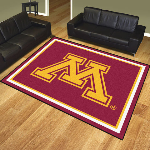 NCAA Minnesota Golden Gophers 8 X 10 Ft. Area Rug - Bed, Bath, And My Team