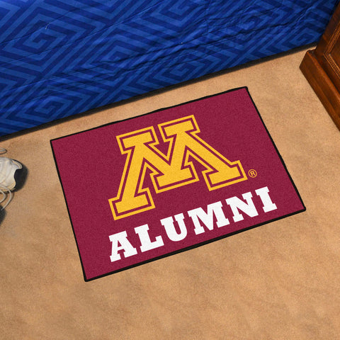 NCAA Minnesota Golden Gophers ALUMNI Starter Rug - Bed, Bath, And My Team