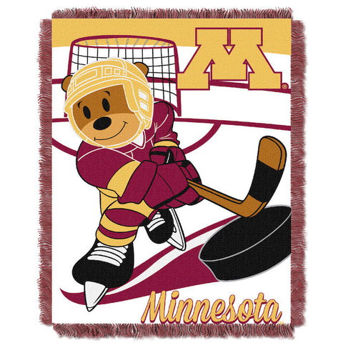 NCAA Minnesota Golden Gophers Baby Blanket - Bed, Bath, And My Team