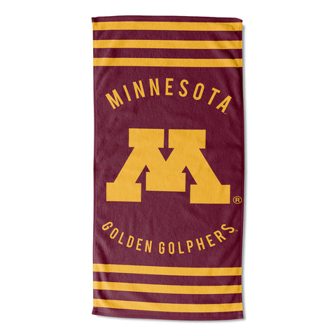 NCAA Minnesota Golden Gophers Beach Towel - Bed, Bath, And My Team