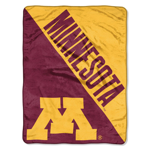 NCAA Minnesota Golden Gophers Micro Raschel Throw - Bed, Bath, And My Team