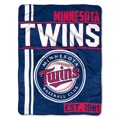 Minnesota Twins Micro Raschel Throw