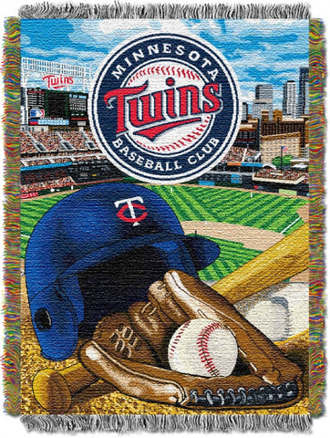 Minnesota Twins Home Field Advantage Tapestry