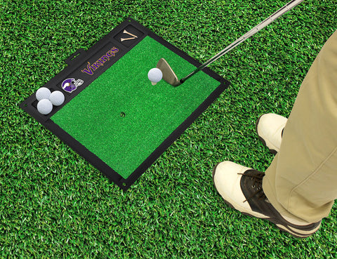 Minnesota Vikings Golf Ball Hitting Mat