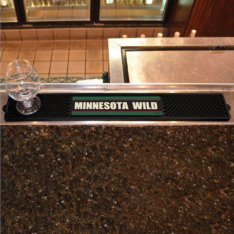 Minnesota Wild Bar Drink Mat