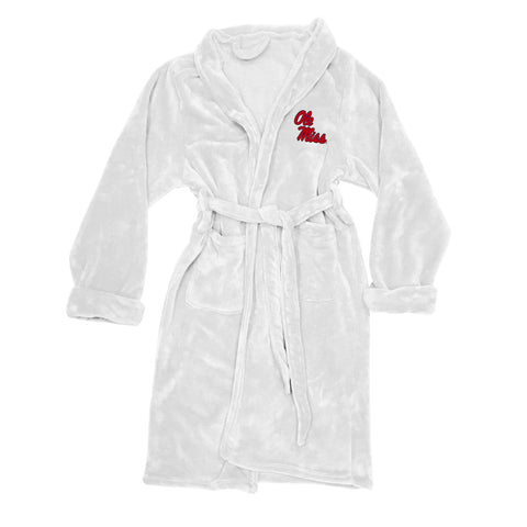 NCAA Mississippi Rebels Silk Touch Mens Bath Robe - Bed, Bath, And My Team