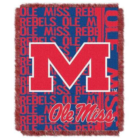 NCAA Mississippi Rebels Woven Decorative Tapestry - Bed, Bath, And My Team