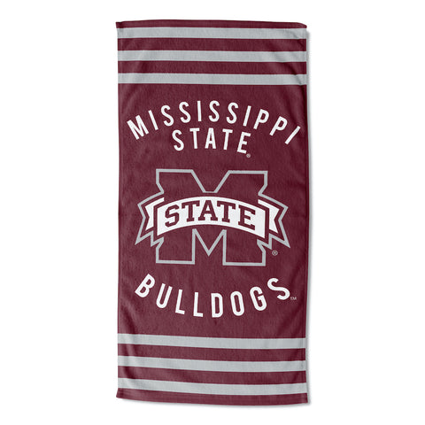 NCAA Mississippi State Bulldogs Beach Towel - Bed, Bath, And My Team