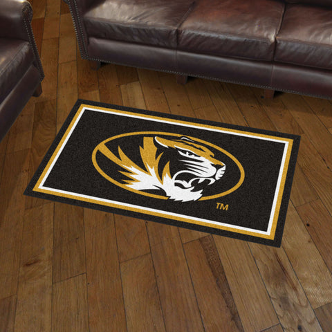 NCAA Missouri Tigers 3 X 5 Ft. Plush Area Rug - Bed, Bath, And My Team