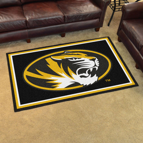 NCAA Missouri Tigers 4 X 6 Ft. Area Rug - Bed, Bath, And My Team