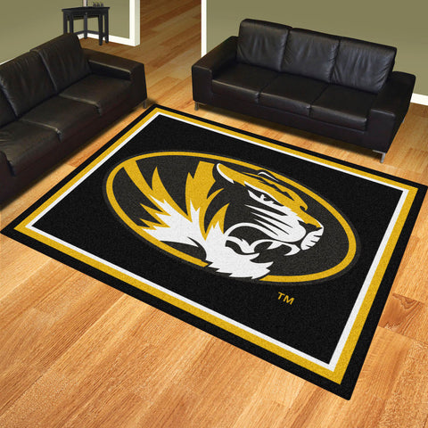 NCAA Missouri Tigers 8 X 10 Ft. Area Rug - Bed, Bath, And My Team