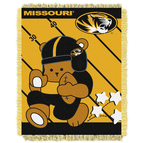 NCAA Missouri Tigers Baby Blanket - Bed, Bath, And My Team