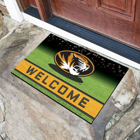 NCAA Missouri Tigers Recycled Rubber CRUMB Doormat - Bed, Bath, And My Team