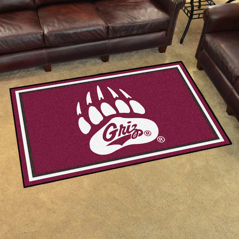 NCAA Montana Grizzlies 4 X 6 Ft. Area Rug - Bed, Bath, And My Team
