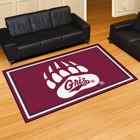 NCAA Montana Grizzlies 5 X 8 Ft. Area Rug - Bed, Bath, And My Team