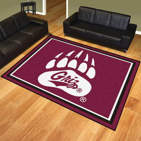 NCAA Montana Grizzlies 8 X 10 Ft. Area Rug - Bed, Bath, And My Team