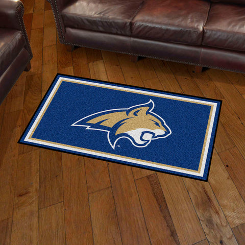 NCAA Montana State Bobcats 3 X 5 Ft. Plush Area Rug - Bed, Bath, And My Team