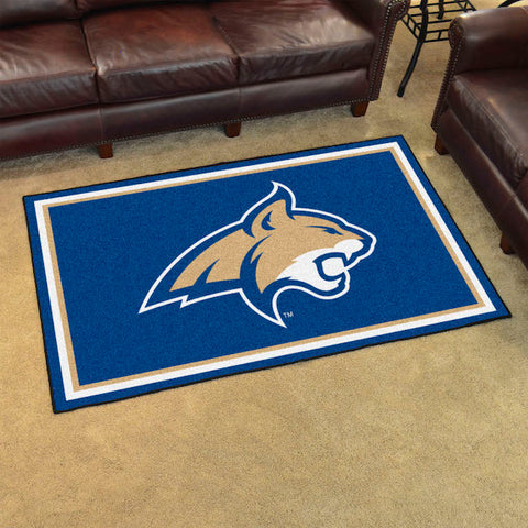 NCAA Montana State Bobcats 4 X 6 Ft. Area Rug - Bed, Bath, And My Team