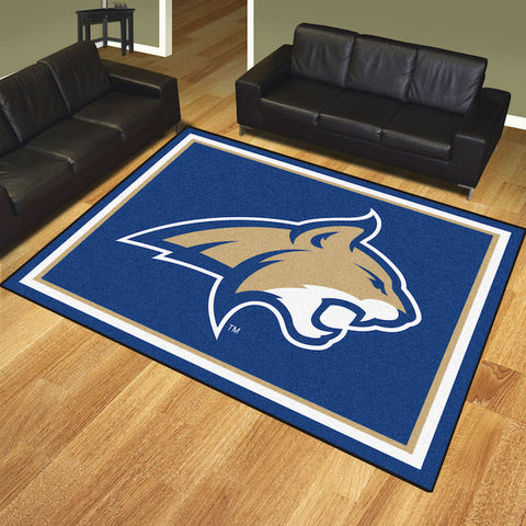 NCAA Montana State Bobcats 8 X 10 Ft. Area Rug - Bed, Bath, And My Team