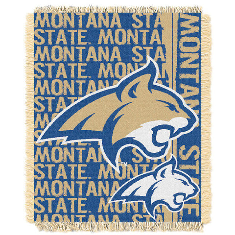 NCAA Montana State Bobcats Woven Decorative Tapestry - Bed, Bath, And My Team