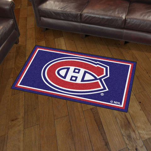 Montreal Canadiens 3 x 5 area rug