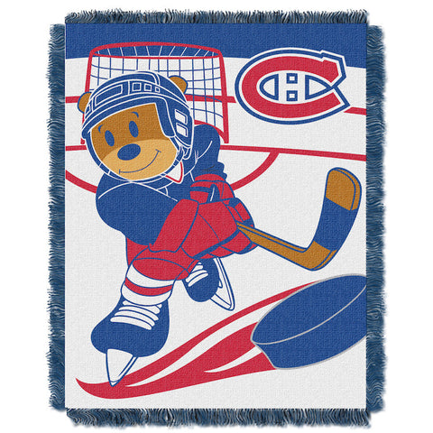 Montreal Canadiens Baby Blanket