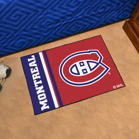 Montreal Canadiens Uniform Inspired Starter Mat