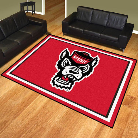 NCAA NC State Wolfpack 8 X 10 Ft. Area Rug - Bed, Bath, And My Team