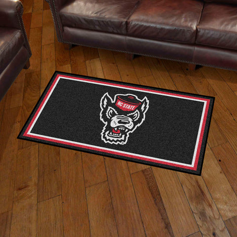 NCAA NC State Wolfpack 3 X 5 Ft. Plush Area Rug - Bed, Bath, And My Team