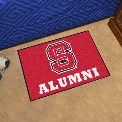 NCAA NC State Wolfpack ALUMNI Starter Rug - Bed, Bath, And My Team