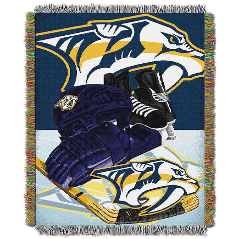 NHL Nashville Predators HOME ICE ADVANTAGE Tapestry - Bed, Bath, And My Team