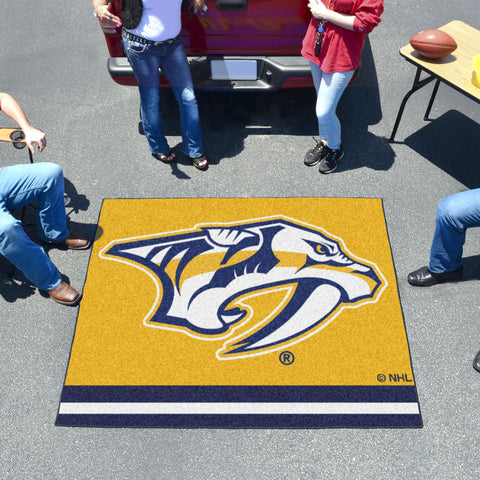 NHL Nashville Predators TAILGATER Mat - Bed, Bath, And My Team