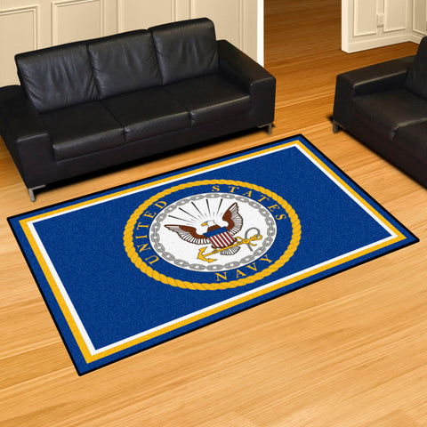 NCAA Navy Midshipmen 5 X 8 Ft. Area Rug - Bed, Bath, And My Team
