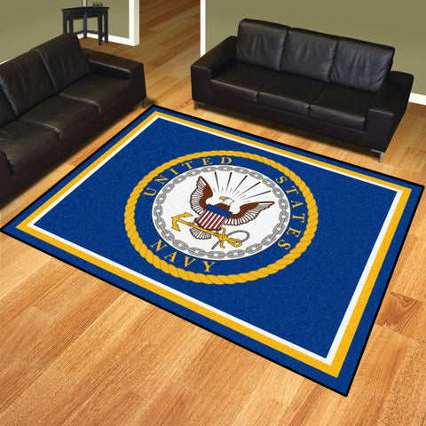 NCAA Navy Midshipmen 8 X 10 Ft. Area Rug - Bed, Bath, And My Team