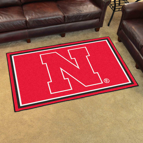 NCAA Nebraska Cornhuskers 4 X 6 Ft. Area Rug - Bed, Bath, And My Team