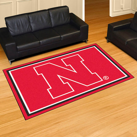 NCAA Nebraska Cornhuskers 5 X 8 Ft. Area Rug - Bed, Bath, And My Team